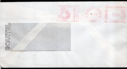 Argentina - 1989 - Lettre - Cachet Spécial - Affranchissement Mécanique - Equitel - Siemens - A1RR2 - Cartas