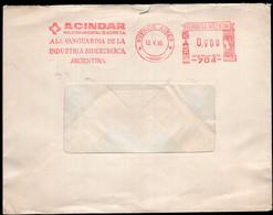 Argentina - 1986  - Lettre - Cachet Spécial - Affranchissement Mécanique - Acindar - A1RR2 - Cartas