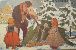 """""""Weihnachten, Weihnachtsbaumverkauf, Kinder""""1912 ♥  (19406) - Sin Clasificación"""