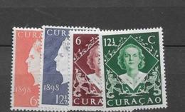 1948 MNH Curaçao 196-199 Postfris** - Niederländische Antillen, Curaçao, Aruba