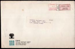 Argentina - Circa 2000 - Courrier Privé - Circulé - Envoyé En Buenos Aires - CIALE - A1RR2 - Lettres & Documents