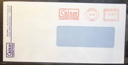 Belgium - Advertising Meter Franking Cover EMA 1993 Embourg Celem Computers - 1980-99