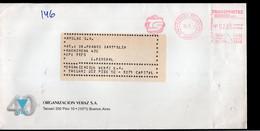 Argentina - Circa 1990- Lettre - Courrier Privé Transportes Sideco SRL - Veraz - Envoyé En Buenos Aires - A1RR2 - Lettres & Documents