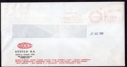 Argentina - 1989 - Transportes Andreani - Lettre - Cachet Spécial - Affranchissement Mécanique - Ducilo SA - A1RR2 - Cartas