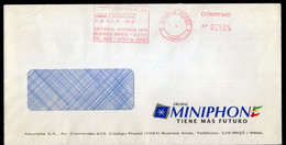 Argentina - Circa 2000 - Courrier Privé Compar SA - Circulé - Envoyé En Buenos Aires - Miniphone - A1RR2 - Lettres & Documents