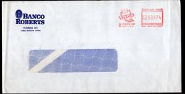 Argentina - Carta - Circa 2000 - Matasello Especial - Franqueo Mecanico -  HSBC Banco Roberts - A1RR2 - Lettres & Documents