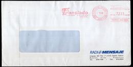 Argentina - 1998 - Lettre - Courrier Privé Translado SA - Circulé - Envoyé En Buenos Aires - Radio Mensaje - A1RR2 - Lettres & Documents