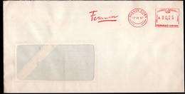 Argentina - 1987 - Lettre - Cachet Spécial - Affranchissement Mécanique - Ferrum - A1RR2 - Cartas