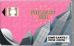 CARTE²-FR- CINEMA-CINE CARTE-SC4ob-PHILCART Carte Acces-V°5Impacts N°24343-TBE LUXE - Entradas De Cine