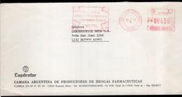 Argentina - 1990 - Lettre - Cachet Spécial - Affranchissement Mécanique - Capdrofar - A1RR2 - Lettres & Documents