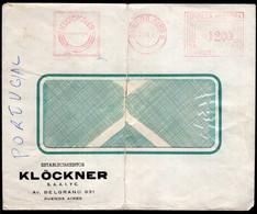 Argentina - 1967 - Lettre - Cachet Spécial - Affranchissement Mécanique - Klöckner - A1RR2 - Cartas