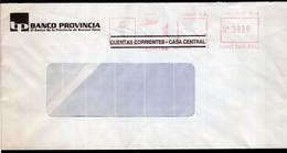 Argentina - Circa 2000 - Lettre - Courrier Privé Rowing SA - Envoyé En Buenos Aires - Banco Provincia Bs. As. - A1RR2 - Lettres & Documents