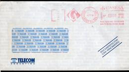 Argentina - 1996 - Lettre - Courrier Privé CASESA - Circulé - Envoyé En Buenos Aires - Telecom - A1RR2 - Lettres & Documents