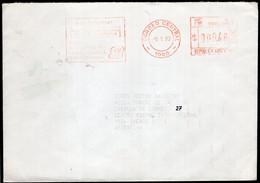 Argentina - 1993  - Lettre - Cachet Spécial - Affranchissement Mécanique - Bandeleta Parlante - A1RR2 - Lettres & Documents