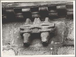 Photo Ancienne - Sélestat - Eglise Sainte Foy - Chevet - Corbeau Roman - Lugares