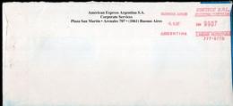 Argentina - 1997 - Courrier Privé ESETECE SRL - Circulé - Envoyé En Buenos Aires - American Express - A1RR2 - Lettres & Documents
