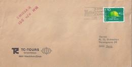 """Drucksache  """"TC Tours, Orient Reisen, Rüschlikon""""           1968 - Briefe U. Dokumente"""