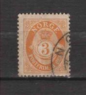 NORVEGE / NORGE.  (Y&T) 1894/1907 - N°48  *  *   3s  Obli () - Used Stamps
