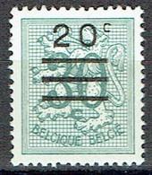 20 C Sur 30 C Olive Foncé Type Lion Héraldique - Nuevos
