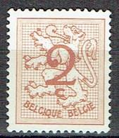2 C Brun Type Lion Héraldique - Nuevos