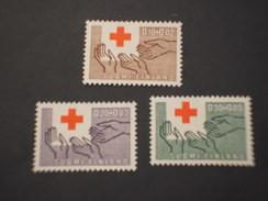 FINLANDIA - 1963 CROCE ROSSA 3 Valori - NUOVI(++) - Neufs