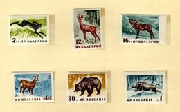 Bulgarie (1958)  - Gibiers - Faune - ND    Neufs** - MNH - Neufs