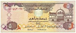 United Arab Emirates - 5 Dirhams - 2000 / AH 1420 - Pick: 19.a - United Arab Emirates