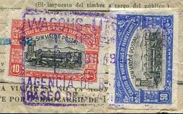 RAILWAY España Spain 1946 Wagons-Lits Document Revenue Steam Locomotive Train Eisenbahn Spanien Chemin De Fer Espagne - Trains
