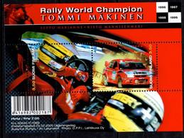 2000 Tommi Makinen Miniature Sheet, Racing Car  Fine Used - Usados