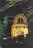 """CPM . """"NOEL DES LUMIERES """" NIORT 1993 . Conception RICARDO BASUALDO Illum VITO FANIULO . NON ECRITE - Niort"""