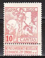 87**  Caritas - Bonne Valeur - MNH** - LOOK!!!! - 1910-1911 Caritas