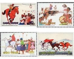 Ref. 54006 * MNH * - CAPE VERDE. 1995. TRADITONAL HOLIDAYS . FIESTAS TRADICIONALES - Cape Verde