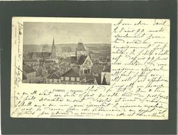 91 étampes Panorama  édit. D. Des Gachons Précurseur - Etampes