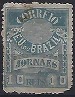 Brazil 1890  Newspaper Stamp (o) - Sin Clasificación