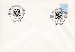 Enveloppe 1839 Cercle Philatélique Athois Ath - Tarjetas Ilustradas