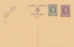 Carte Entier Postal Houyoux - Postales [1909-34]