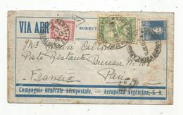 Lettre , Republica Argentina , SERV. AEROPOSTAL , BUENOS AIRES ,1930 , PARIS 108 - Briefe U. Dokumente