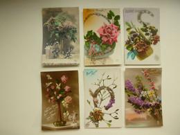 Lot De 60 Cartes Postales De Fantaisie  Fleurs Fleur   Lot Van 60 Postkaarten  Bloemen Bloem - 5 - 99 Cartoline