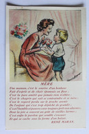 GERMAINE BOURET   MERE RENE MARAN E A E C PARIS - Bouret, Germaine