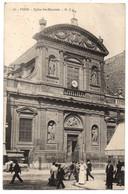 CPA 75 - PARIS - 86. Eglise Sainte-Elisabeth - Dos Simple - G. I. (petite Animation) - Distrito: 10