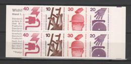 """ALLEMAGNE / BERLIN - Carnet Série Courante """"Prévention Des Accidents"""" - 1972/73 - Yvert  C395c - Carnets"""