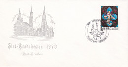 Enveloppe 1519 Sint-Trudofeesten Sint-Truiden - Cartas