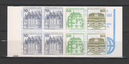 "ALLEMAGNE / BERLIN - Carnet Série Courante ""Châteaux"" - 1977/82 - Yvert  C633b - Carnets"