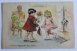"""GERMAINE BOURET  """" VOUS AVEZ FAIY DES FOLIES..... ....  . """"  C M P PARIS - Bouret, Germaine"""