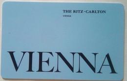 Ritz Carlton Hotel, Vienna - Cartas De Hotels
