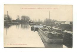 Laroche-Migennes (89) - Les Peniches, Canal Barges - Old France Postcard - Migennes