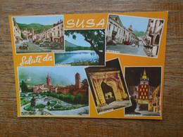 Italie , Susa , Saluti Da Susa - Andere Steden