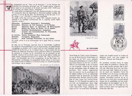 Feuillet Poste FDC 1284 De Postiljons - Cartas