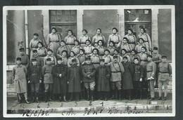 Aude. Narbonne, Carte Photo Du 80eme Régiment D'infanterie Militaire En 1932 - Narbonne