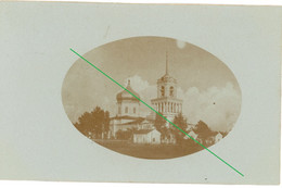 14-18.WWI Fotokarte-russische Kirche - 1914-18